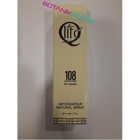 QLİFE BAYAN PARFÜM 108 BURBERRY'S - 50 ML